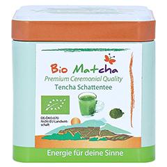 MATCHA Bio Premium Tencha Schattentee Pulver 50 Gramm - Vorderseite