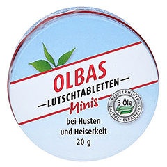 OLBAS Mini Lutschtabletten 1x20 Gramm
