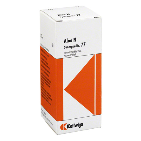 SYNERGON KOMPLEX 77 Aloe N Tropfen 50 Milliliter N1