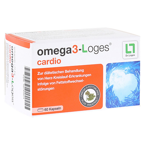 OMEGA 3-Loges cardio Kapseln 60 Stück