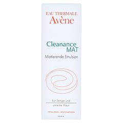AVENE Cleanance MAT mattierende Emulsion 40 Milliliter - Vorderseite
