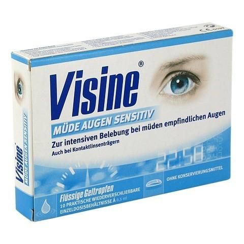 VISINE müde Augen Sensitive Einzeldosispipetten 10x0.5 Milliliter