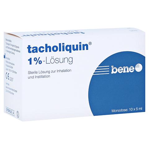 TACHOLIQUIN 1% Lösung Monodose 10x5 Milliliter