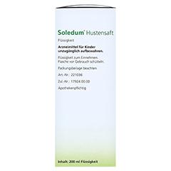 Soledum Hustensaft 200 Milliliter N1 - Rechte Seite