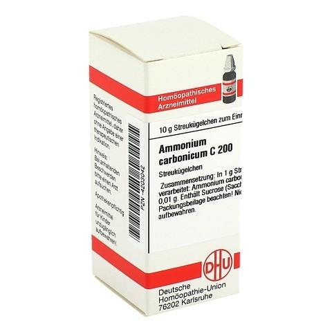 AMMONIUM CARBONICUM C 200 Globuli 10 Gramm N1