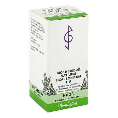 BIOCHEMIE 23 Natrium bicarbonicum D 6 Tabletten 200 Stück N2