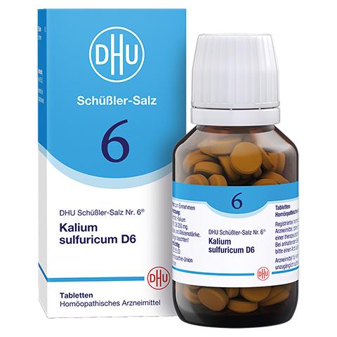 BIOCHEMIE DHU 6 Kalium sulfuricum D 6 Tabletten 200 Stück N2