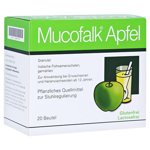 Mucofalk Apfel Beutel 20 Stück N1