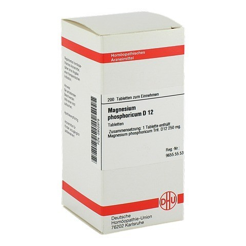 MAGNESIUM PHOSPHORICUM D 12 Tabletten 200 St�ck N2