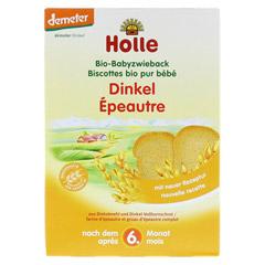 HOLLE Bio Baby Dinkel Zwieback 200 Gramm - Vorderseite