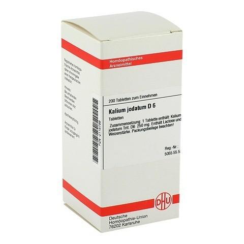 KALIUM JODATUM D 6 Tabletten 200 Stück N2
