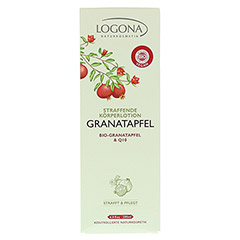 LOGONA straffende K�rperlotion Granatapfel & Q10 200 Milliliter - Vorderseite