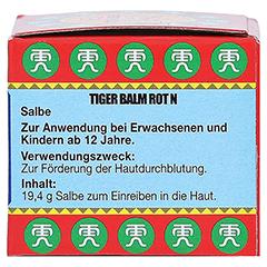 Tiger Balm rot N 19.4 Gramm - Rechte Seite