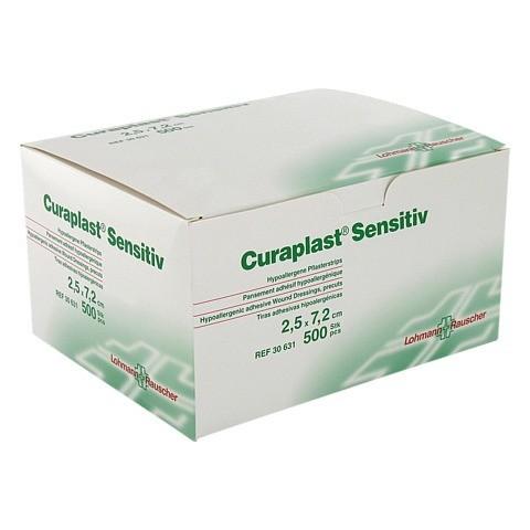 CURAPLAST Strips sensitiv 2,5x7,2 cm 500 Stück