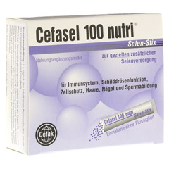 CEFASEL 100 nutri Selen Stix Pellets 20 Stück