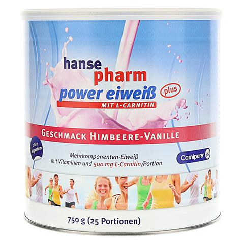 HANSEPHARM Power Eiwei� plus Himbeere-Vanille Plv. 750 Gramm