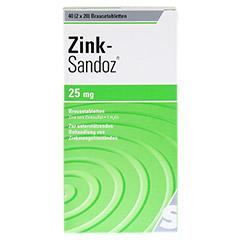 Zink-Sandoz 40 St�ck - Vorderseite