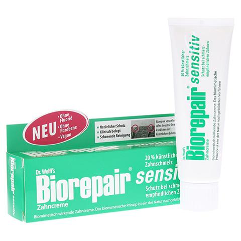 BIOREPAIR Zahncreme sensitiv 75 Milliliter