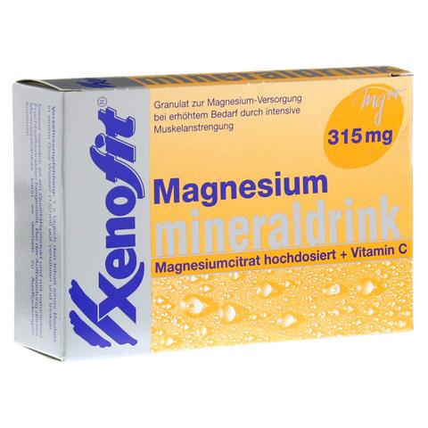 XENOFIT Magnesium+Vitamin C Btl. 20x4 Gramm