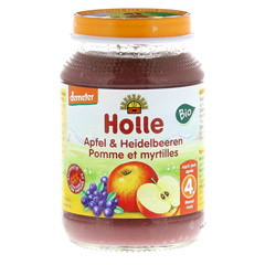 HOLLE Apfel & Heidelbeere 190 Gramm