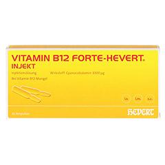 Vitamin B12 Hevert forte Injekt Ampullen 10x2 Milliliter N2 - Vorderseite