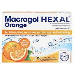 MACROGOL HEXAL Orange Plv.z.Her.e.Lsg.z.Einn.Btl. 50 St�ck - Vorderseite