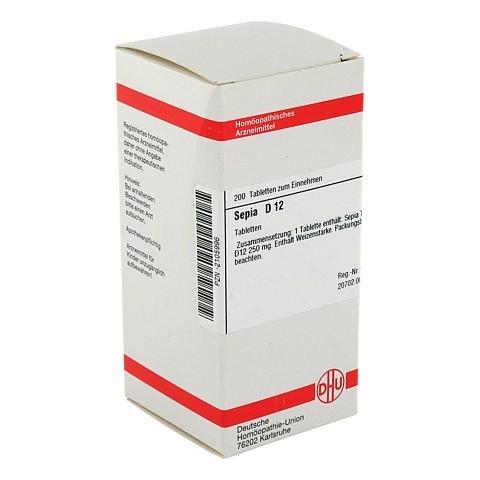 SEPIA D 12 Tabletten 200 St�ck N2