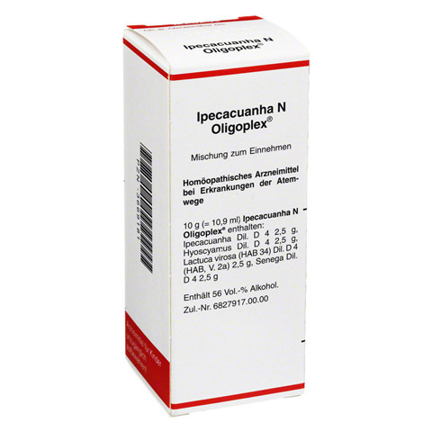 IPECACUANHA N Oligoplex Liquidum 50 Milliliter N1