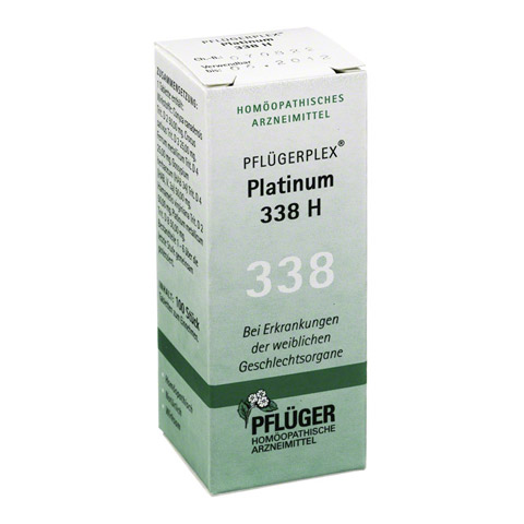 PFLÜGERPLEX Platinum 338 H Tabletten 100 Stück N1