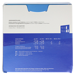 OMEGA 3 liquid MensSana Sticks 28 Stück - Rückseite