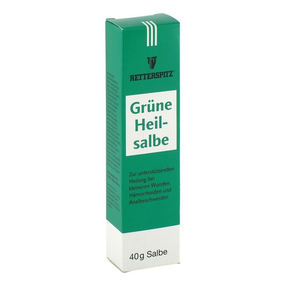 grüne heilsalbe