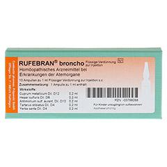 RUFEBRAN broncho Ampullen 10 Stück N1 - Vorderseite
