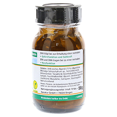 DHA Plus pflanzlich Omega-3-Fettsäuren Kapseln 70 Stück - Linke Seite