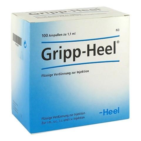 GRIPP-HEEL Ampullen 100 Stück N3