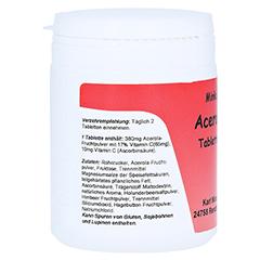 ACEROLA VITAMIN C Tabletten 200 St�ck - Rechte Seite