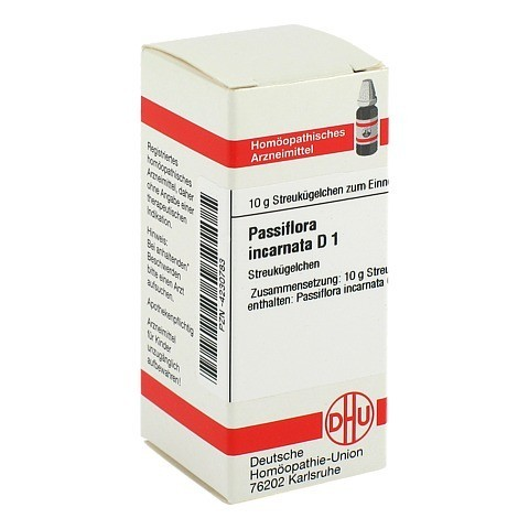 PASSIFLORA INCARNATA D 1 Globuli 10 Gramm N1