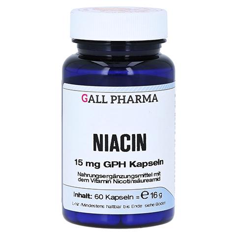 NIACIN 15 mg Kapseln 60 Stück