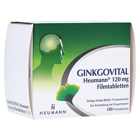 GINKGOVITAL Heumann 120mg 120 St�ck N3