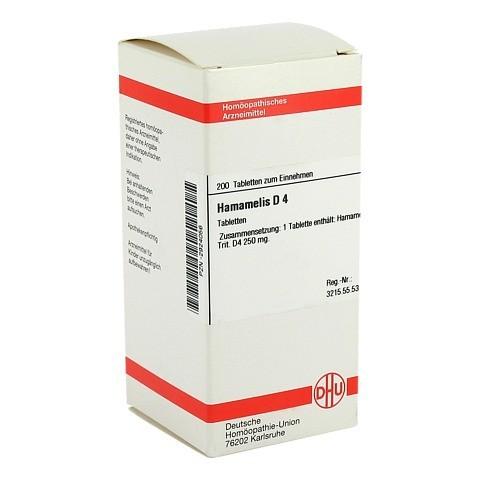 HAMAMELIS D 4 Tabletten 200 St�ck N2