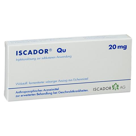 ISCADOR Qu 20 mg Injektionslösung 7x1 Milliliter N1