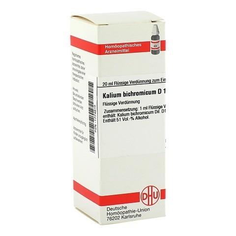 KALIUM BICHROMICUM D 12 Dilution 20 Milliliter N1