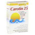 CAROTIN 25 Feingold Kapseln 40 St�ck
