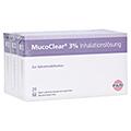 MUCOCLEAR 3% NaCl Inhalationsl�sung 60x4 Milliliter