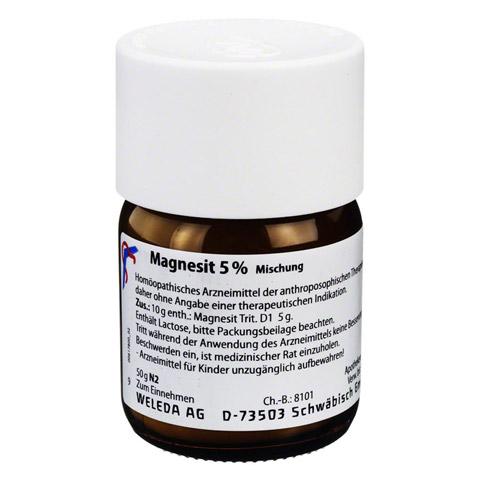 MAGNESIT 5% Trituration 50 Gramm N2