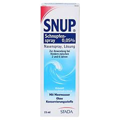 Snup Schnupfenspray 0,05% 15 Milliliter N2 - Vorderseite