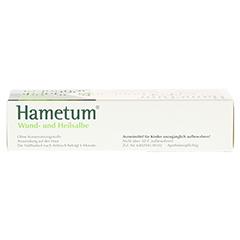 Hametum Wund- und Heilsalbe 50 Gramm N2 - Oberseite