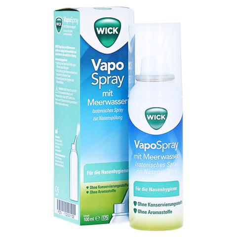 WICK Vapospray zur Nasenspülung Isotonic 100 Milliliter