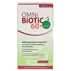 OMNI BiOTiC 60+ aktiv Pulver 300 Gramm - Vorderseite