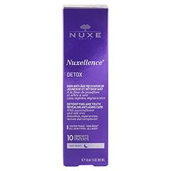 NUXE Nuxellence Detox Creme + gratis Nuxe Kosmetikbeutel mit Nuxe Body 50 ml 50 Milliliter - Rückseite