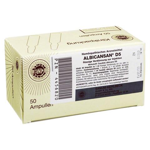 ALBICANSAN D 5 Ampullen 50x1 Milliliter N2